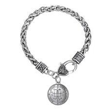 supernatural SILVER SIGIL OF 7 ARCHANGEL ST.MICHAEL Gabriel PROTECTION Bracelet