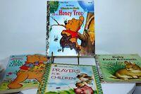 Little Golden Books 4 Winnie the Pooh Disney Farm Animals, Prayers for Children