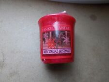 Yankee Candle Rare Welcome Christmas  Sampler