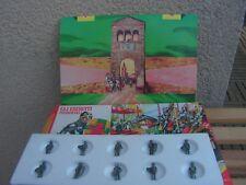 jouets anciens petits soldat de plomb en boite annees  70     medieval