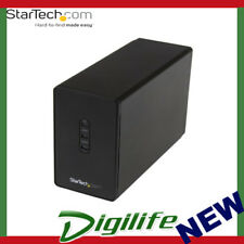 "Startech Dual-Bay 2.5"" Hard Drive Enclosure USB 3.0 to SATA III 6Gbps with RAID"
