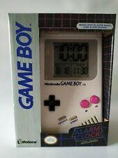 Game Boy Alarm Clock réveille horloge Nintendo licence Game Boy PALADONE neuf