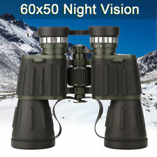 Day/Night 60x50 Military Army Zoom Powerful Binoculars Optics Hunting Camping UK