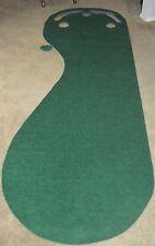 Grassroots Par Three Golf Putting Green- 3 Par Cup Cutout Practice:  3x9' *NEW*