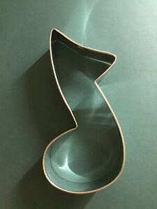 """Music Note Cookie Cutter 3.5"""" Music Sound Baking Decorate Band Group Party Sing"""