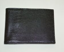 ETRO WALLET MEN'S LEATHER BIFOLD WITH COIN WALLET MADE IN ITALY NEW