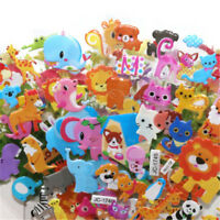 5sheets 3D Bubble Sticker Toys Children Kids Animal Classic Stickers Gift EO