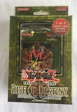 YuGiOh Rise of Destiny Special Edition SE Deck/Box 3pk Sealed New English 1st Ed