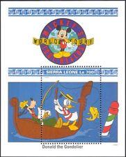 Sierra Leone 1992 Walt Disney/Mickey/Donald/Goofy/Boat/Cartoons 1v m/s (b1605q)