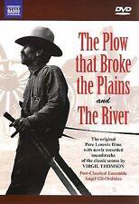 The Plow that Broke the Plains/The River (DVD, 2007) NAXOS EXCELLENT MINT DISCS