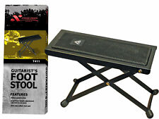 XTREME - Guitarist's footstool *NEW* AMS, guitar, foot stool, black metal frame