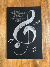 BRAND NEW MUSIC COMPOSITION / MANUSCRIPT NOTEBOOK - IDEAL FOR MUSIC STUDENTS