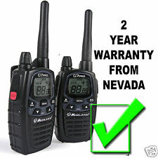 Midland G7 Pro (Pair) Latest UK version 2-way radios