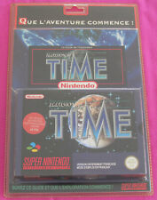 Illusion of time PAL FR NEUF SOUS BLISTER RIGIDE , RPG pour Super Nintendo