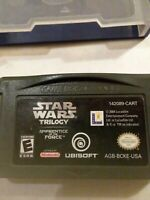 Gameboy Star Wars Trilogy Apprentice Of The Force