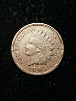 1905 Indian Head Small Cent 1C