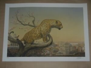 Martin Wittfooth The Aviary signed numbered print poster only 50 exist! Babel