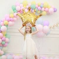 39'' Gold Crown Foil Helium Balloon Princess Birthday Party Wedding Unicorn Tool
