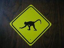 MONKEY Zoo animal metal mini Sign