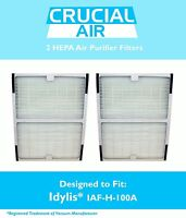 2 Idylis A HEPA Air Purifier Filter Fit IAP-10-100 IAP-10-150 Model # IAF-H-100A