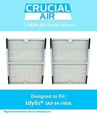 2 Idylis A HEPA Air Purifier Filter Fit IAP-10-100 IAP-10-150 Model # IAF-H-100A