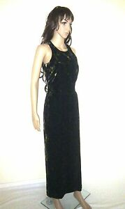 MONSOON Black & Gold Maxi Designer Dress. Evening, Cocktail Party.  SIZE 10