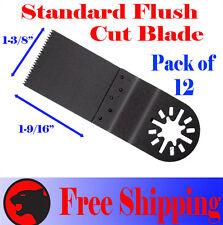 12 Fine Cut Oscillating Multi Tool Saw Blade For Ridgid Ryobi Milwaukee Makita