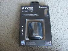 Brand New iHome iBT69BC Bluetooth Wireless Rechargeable Mini Speaker Black