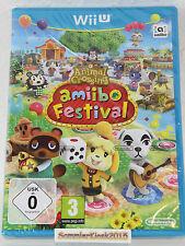 Animal Crossing Amiibo Festival Spiel für Nintendo WiiU Neu OVP - USK ab 0 Jahre