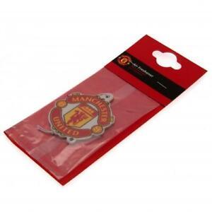 Manchester United Football Club Single Car Air Freshener Freshner Official MUFC