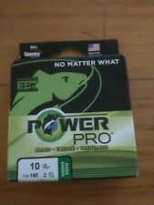 New listing Power Pro Moss Green 10 lb 150 yds Braided Fishing Line, New!