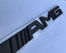 Nuevo Mercedes-Benz W176 W204 A C E G ML Clase S SL AMG Maletero Insignia Negro