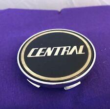 Central Chrome Custom Wheel Center Cap Set of One (1) pn: BC-132