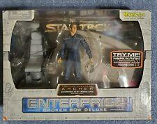 Star Trek Enterprise Broken Bow Captain Jonathan Archer  Figure & Bridge Station