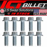 USA Made - BOLT KIT ONLY  LS Timing Chain Cover Hex Flange Bolts LS1 LS3 LS2 LSX