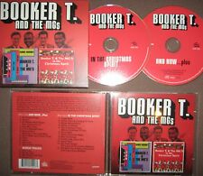 Remastered 2 CD AND NOW & IN THE CHRISTMAS SPIRIT Booker T & The MG's soul funk