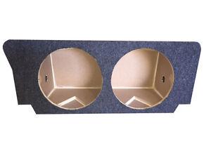 "Zenclosures 2-15"" Subwoofer Sub Box For 2008-2020 DODGE CHALLENGER - Dual 15"""