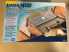 Littermaid Waste Sealed Receptacles 12 Pack Disposable Plastic Odor containment