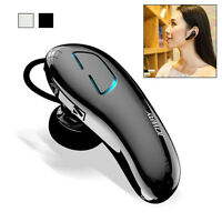 Wireless Bluetooth 4.1 Headset Stereo Mic Black Handsfree Earphone For Cellphone
