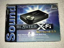Creative Sound Blaster X-Fi Surround 5.1 External USB Computer Audio Card SB1090