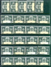 Hoard of 32 Mint Canada Cigars Proofs/Specimens (NO CONTROL #) (Lot #B407)