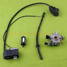 Carburetor Ignition Coil Fuel Filter Line For STIHL FS120 FS200 FS250 Trimmer