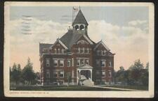 Postcard CORTLAND New York/NY  Central School w/Observation/Bell Tower 1910's