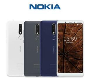 "Original Nokia 3.1 Plus Dual SIM 32GB 3GB RAM 4G LTE 13MP 6"" Smartphone"