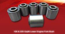 PEUGEOT 106 GTI Grpn Motore Inferiore Forcella Bush
