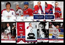 2008-09 MONTREAL CANADIENS CENTENNIAL 100th SP 201-300 & PARALLEL /100 SEE LIST