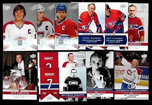 2008-09 MONTREAL CANADIENS CENTENNIAL 100th SP 201-300 & INKS + JERSEY SEE LIST