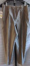 NWT Dana Buchman Gold Silk Dress Pants Misses Size 12