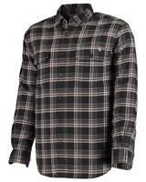 Wolverine - Mens M - NWT - Escape Black Plaid Flannel Cotton Pocket Shirt