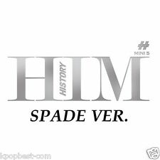 HISTORY - HIM [SPADE] (5th Mini Album) CD +Booklet+Photocard